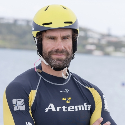 Artemis Racing in Bermuda. 22nd of March, 2016, Morgan's Point, Bermuda