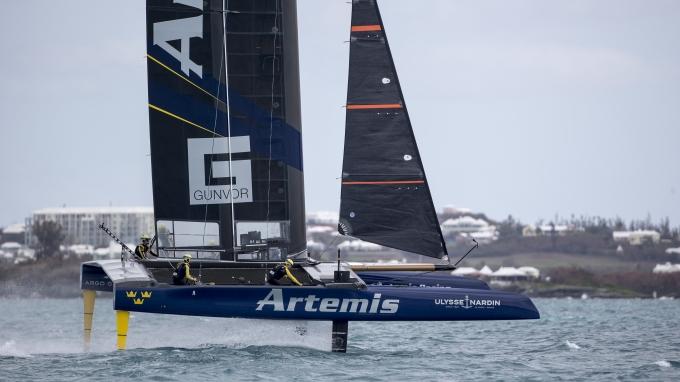 Artemis Racing in Bermuda. 2nd of November, 2016, Morgan's Point, Bermuda