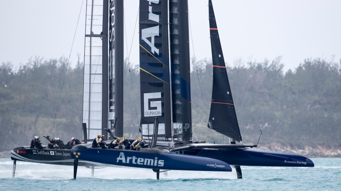 Artemis Racing. 27th of April, 2017, Bermuda